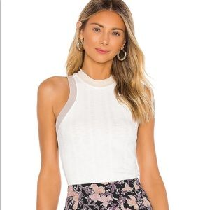 Free People We the Free Cooper tank in white
